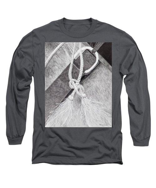 Saddle Strap Long Sleeve T-Shirt