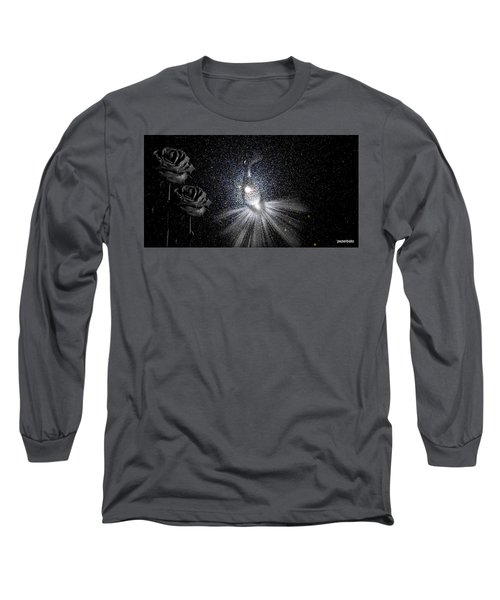 Sadnesses Are Beauties Erased By Suffering Long Sleeve T-Shirt by Paulo Zerbato