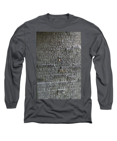 Sagrada Familia Doors Long Sleeve T-Shirt by Henri Irizarri