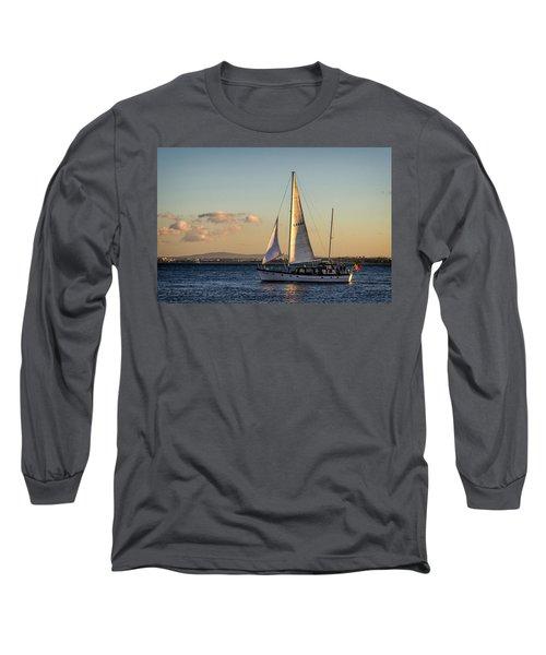 Sail Away From Lisbon Long Sleeve T-Shirt