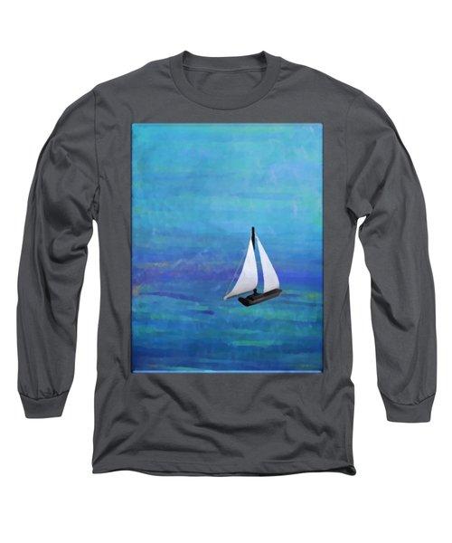 Sail Boat Long Sleeve T-Shirt