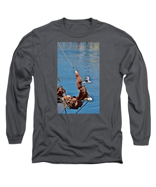 Long Sleeve T-Shirt featuring the photograph Sail Boat by Werner Lehmann