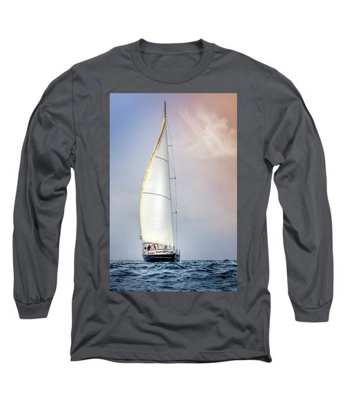 Sailboat 9 Long Sleeve T-Shirt