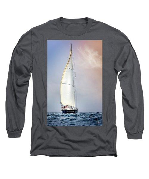 Sailboat 9 Long Sleeve T-Shirt