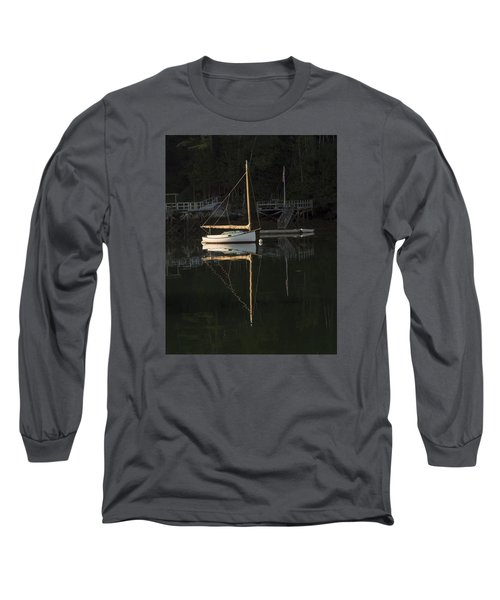 Sailboat At Rest Long Sleeve T-Shirt