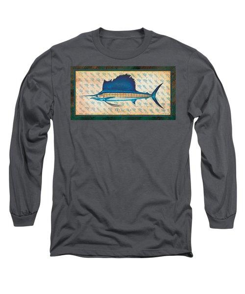 Sailfish Long Sleeve T-Shirt by Jon Q Wright