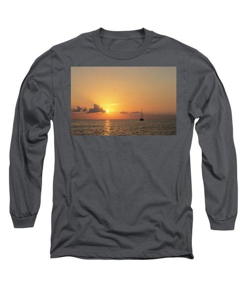 Crusing The Bahamas Long Sleeve T-Shirt