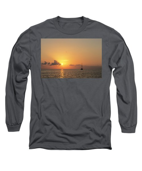 Crusing The Bahamas Long Sleeve T-Shirt
