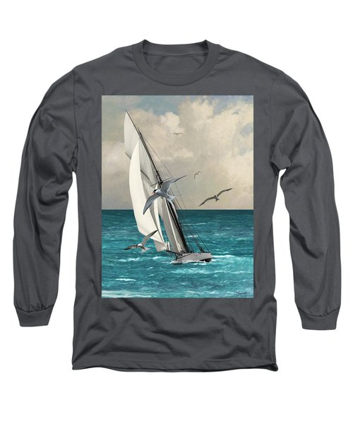 Sailing Southern Seas Long Sleeve T-Shirt