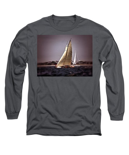 Sailing To Nantucket 005 Long Sleeve T-Shirt
