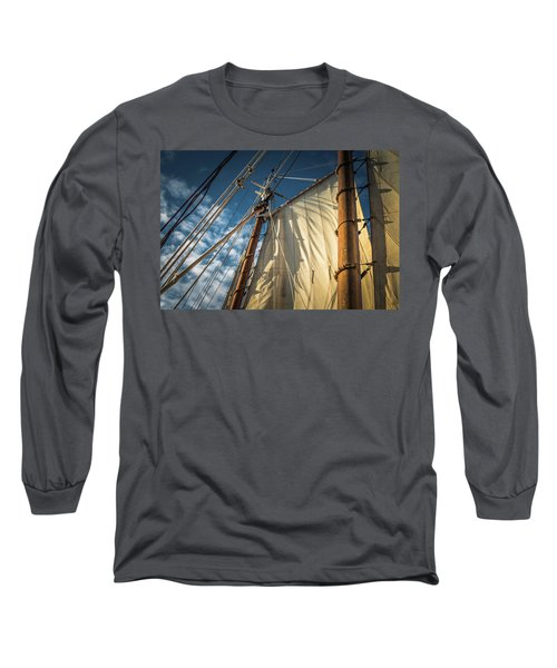 Sails In The Breeze Long Sleeve T-Shirt