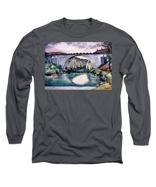 Saint Bridge Long Sleeve T-Shirt by Geni Gorani