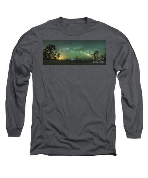 Saint Helena Island Milky Way Long Sleeve T-Shirt by Robert Loe