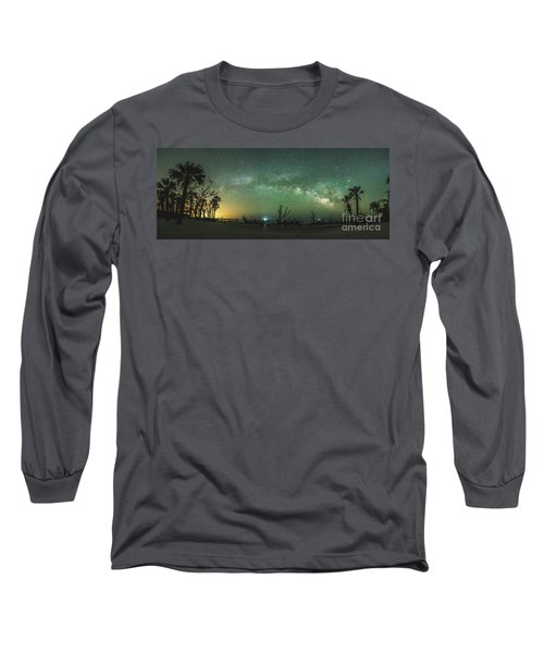Saint Helena Island Milky Way Long Sleeve T-Shirt