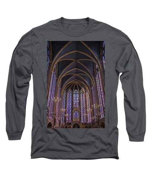 Sainte Chapelle Stained Glass Paris Long Sleeve T-Shirt