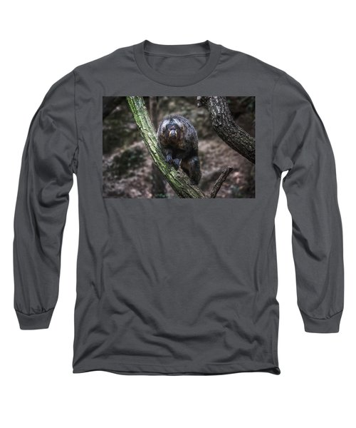 Long Sleeve T-Shirt featuring the photograph Saki by Traven Milovich