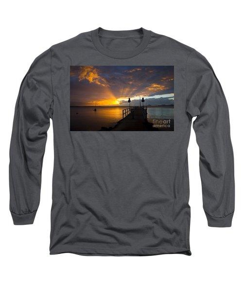 Salamander Bay Sunrise Long Sleeve T-Shirt