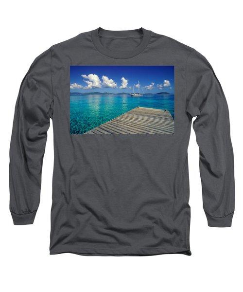 Salt Island Ancorage Long Sleeve T-Shirt