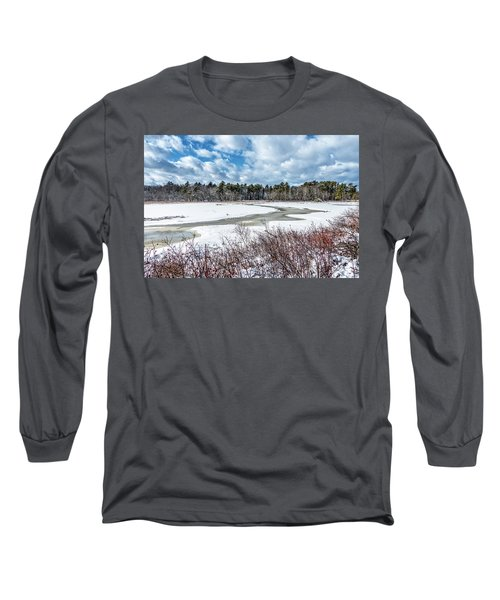Salt Marsh Meander Long Sleeve T-Shirt