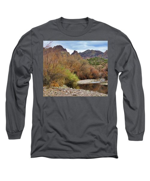 Salt River Pebble Beach Long Sleeve T-Shirt