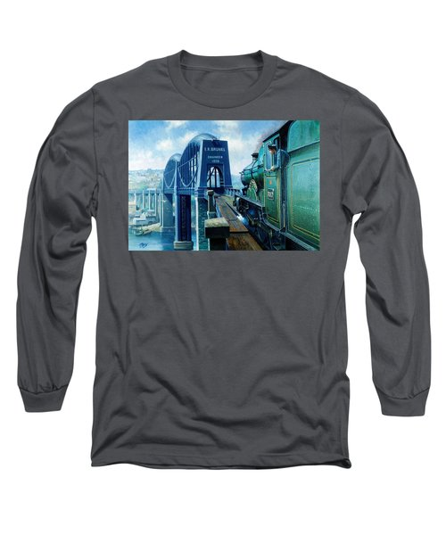 Saltash Bridge. Long Sleeve T-Shirt
