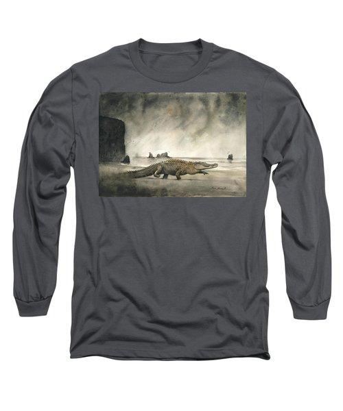 Saltwater Crocodile Long Sleeve T-Shirt
