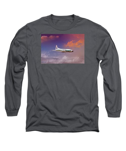 Salute To Herman Long Sleeve T-Shirt by J Griff Griffin