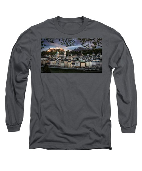 Salzburg Long Sleeve T-Shirt by Maurizio Bacciarini