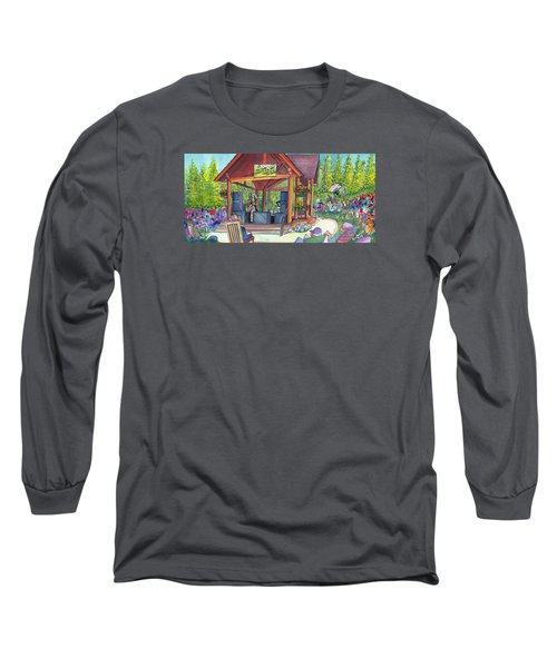 Long Sleeve T-Shirt featuring the painting Samantha Fish In Frisco by David Sockrider
