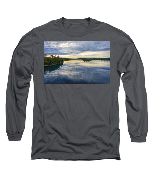 Sambro Basin I Nova Scotia Long Sleeve T-Shirt by Heather Vopni