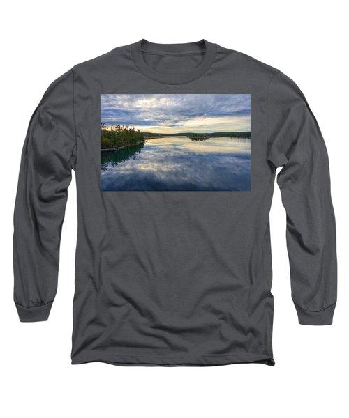 Sambro Basin I Nova Scotia Long Sleeve T-Shirt