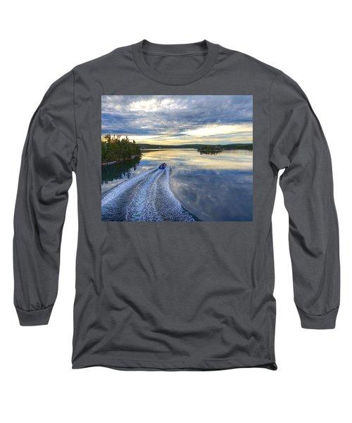Sambro Basin II Nova Scotia Long Sleeve T-Shirt