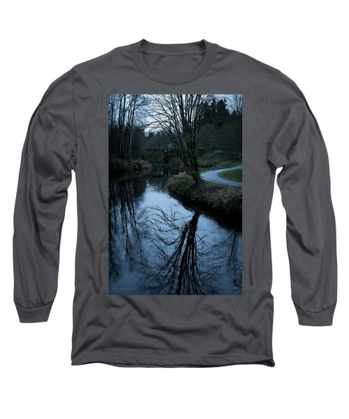 Sammamish River At Dusk Long Sleeve T-Shirt