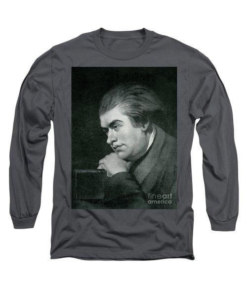 Samuel Johnson  Portrait Long Sleeve T-Shirt