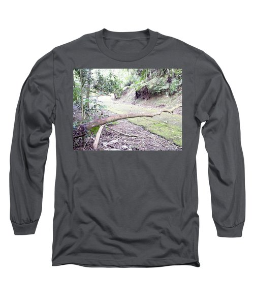 San Andres Echologycal Path At Guilarte's Forest Long Sleeve T-Shirt