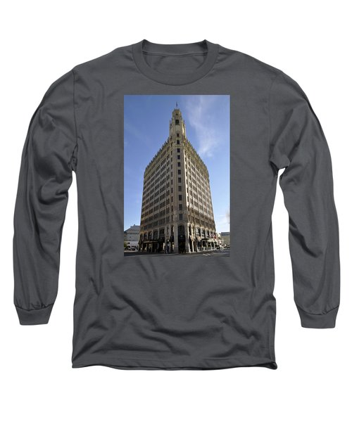 San Antonio Building 2 Long Sleeve T-Shirt