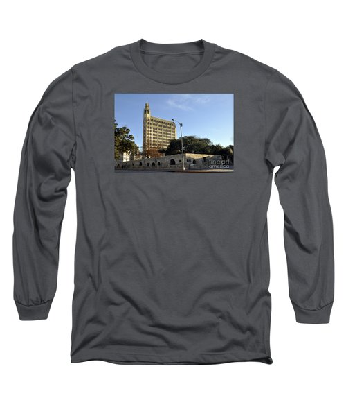 San Antonio Building Long Sleeve T-Shirt