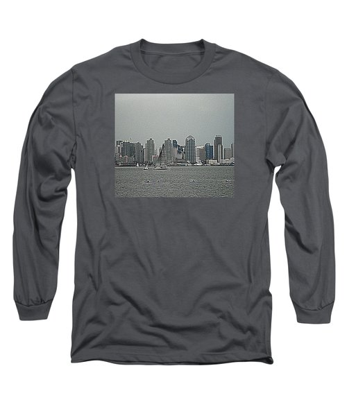 San Diego Waterfront Long Sleeve T-Shirt