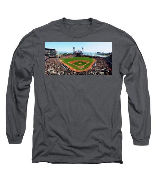 San Francisco Ballpark Long Sleeve T-Shirt