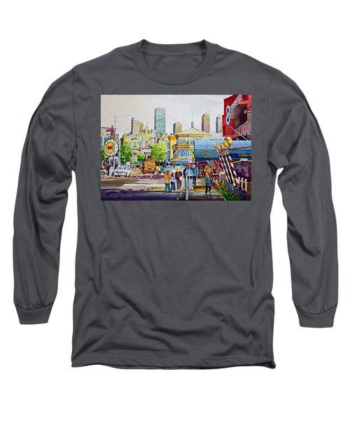 San Francisco Fisherman's Wharf Long Sleeve T-Shirt