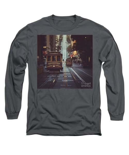 San Francisco Long Sleeve T-Shirt by JR Photography