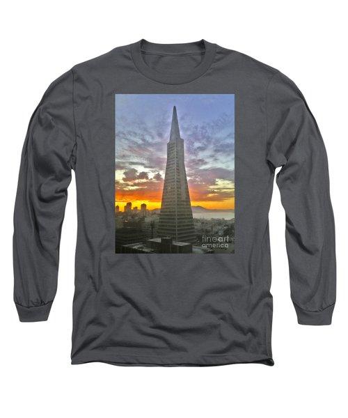 San Francisco Pyramid Long Sleeve T-Shirt