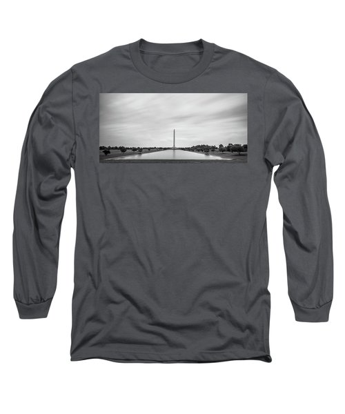 San Jacinto Monument Long Exposure Long Sleeve T-Shirt