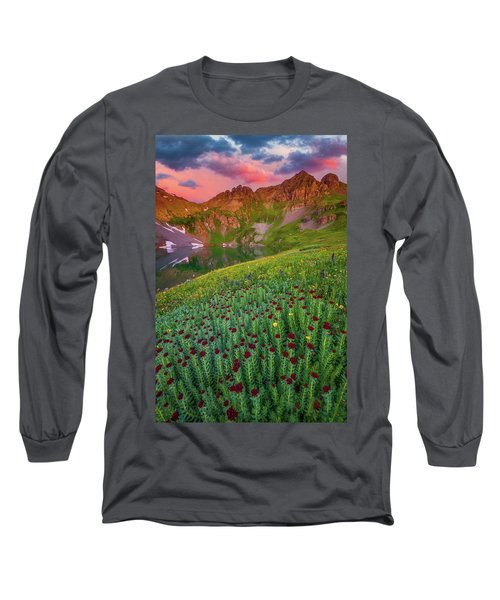 Long Sleeve T-Shirt featuring the photograph San Juan Sunrise by Darren White
