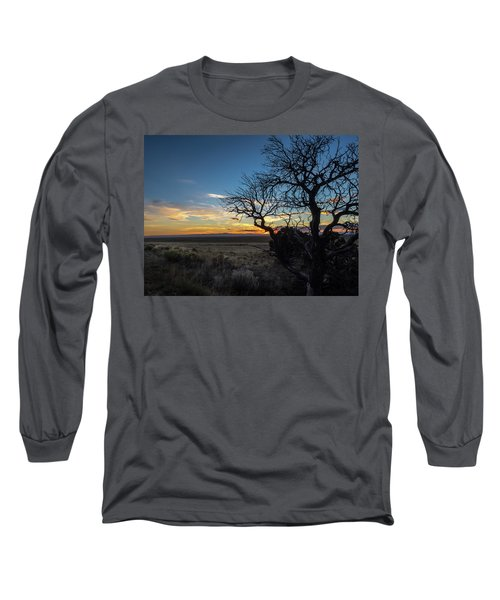 San Luis Valley Sunset - Colorado Long Sleeve T-Shirt