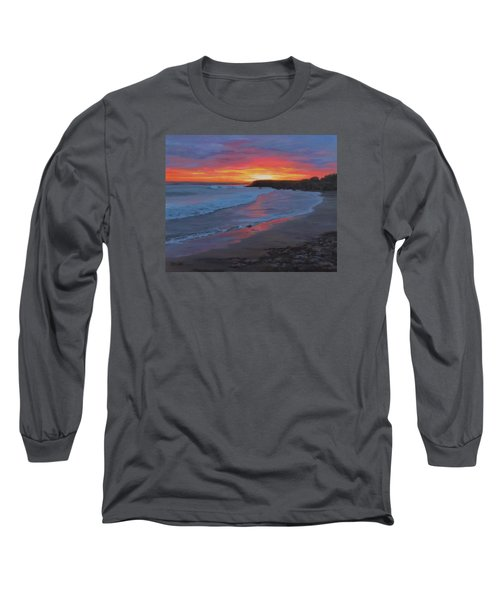 San Simeon Long Sleeve T-Shirt by Karen Ilari