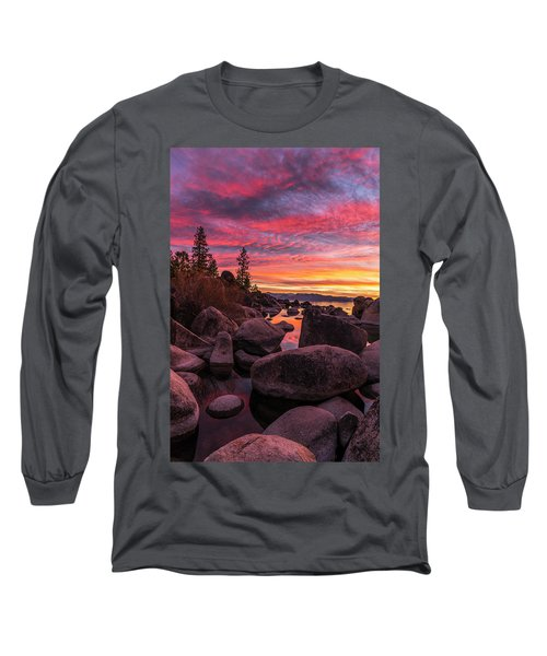 Sand Harbor Beach Long Sleeve T-Shirt