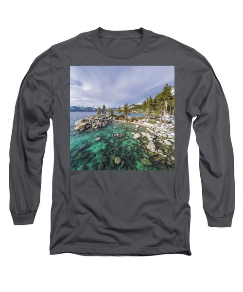 Sand Harbor Views Long Sleeve T-Shirt
