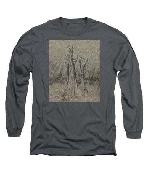 Sand Reel Long Sleeve T-Shirt by Joe  Palermo