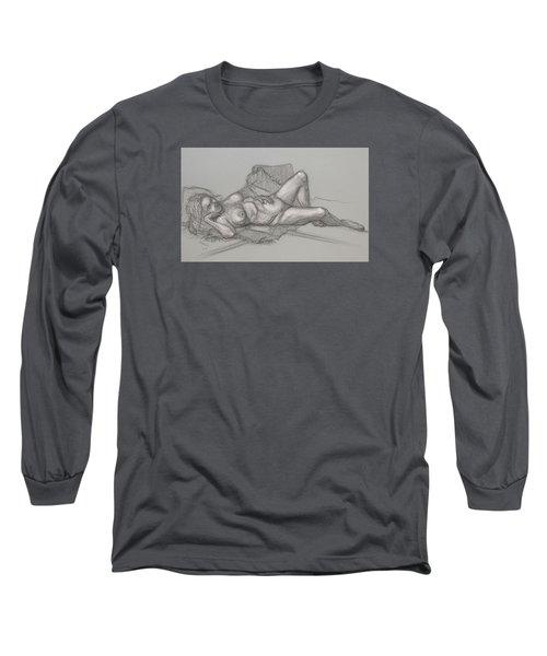 Sandra Sleepimg Long Sleeve T-Shirt